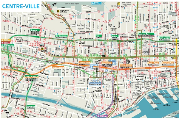 Downtown Montreal Map Mackalski On Marketing The Best Of