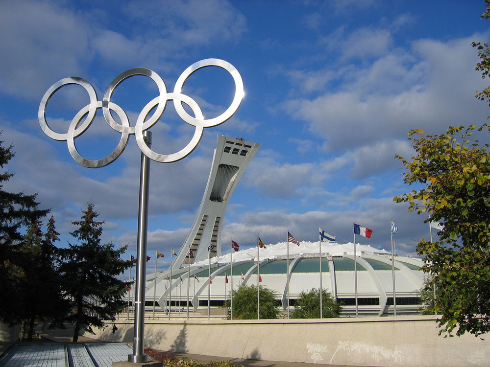 Montreal Olympic Stadium Stade Olympique De Montr 233 Al