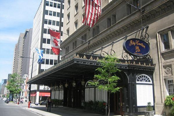 Montreal Ritz Carleton on Sherbrooke Street