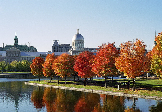Old Montreal Bonsecours Market