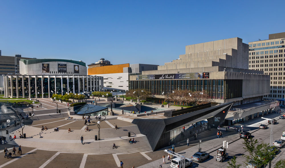 montreal-place-des-arts-aerial